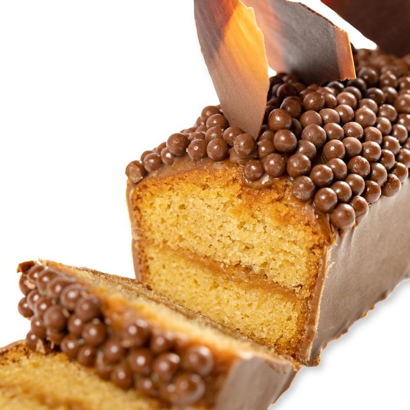 Le cake Merveilleux au caramel